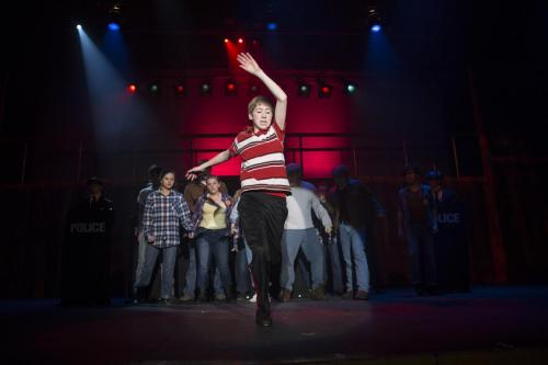 Billy Elliot at Parkview High School on Wednesday, April 5, 2017.