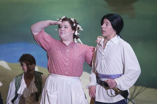 Parkview High School's production of Pirates of Penzance on November 16, 2016.